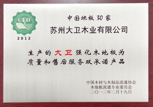 中国地板30家(强化地板)