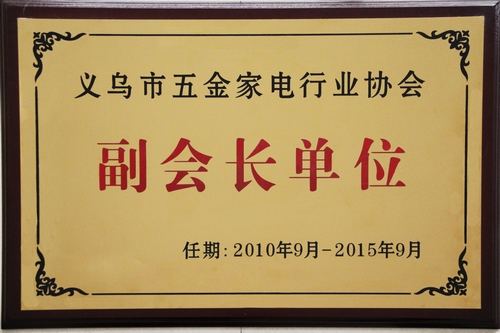 义乌市家电行业协会副会长单位