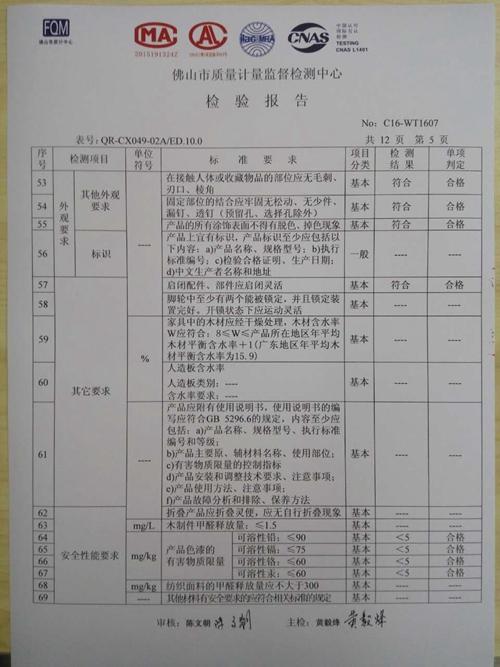 检验报告5