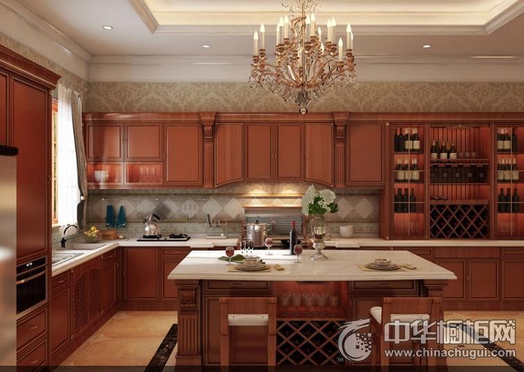 时哥电厨房效果图 古典风格橱柜图片