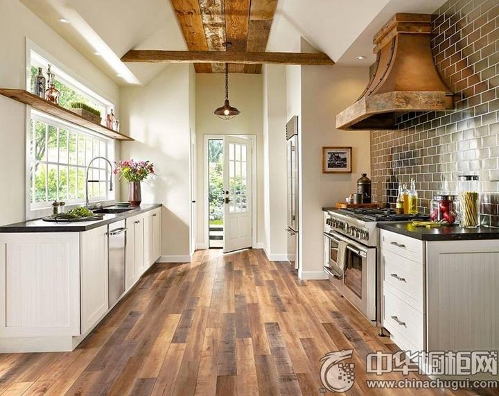 家庭厨房装修效果图 厨房装潢效果图