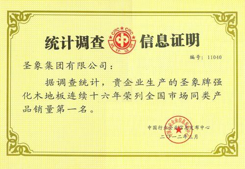 2011年度强化产品销量第一