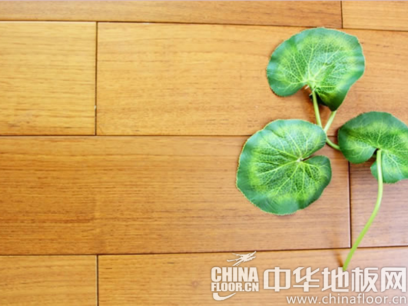 富丽家地板图片 柚木