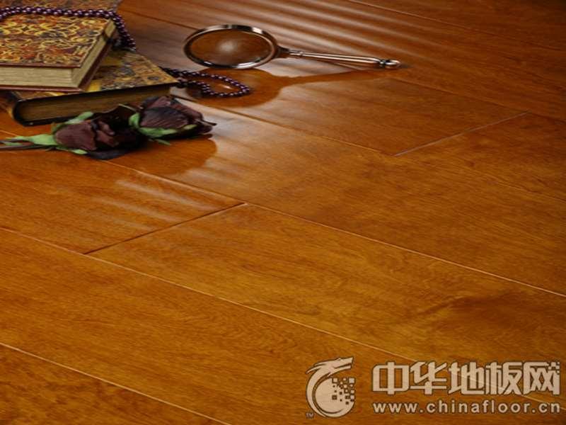 安心·家庭地板 三层实木地热地板 DR-0872
