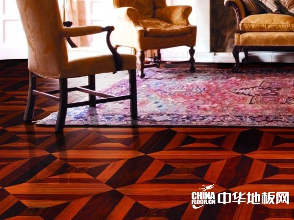 圣象地板-拼花地板效果图