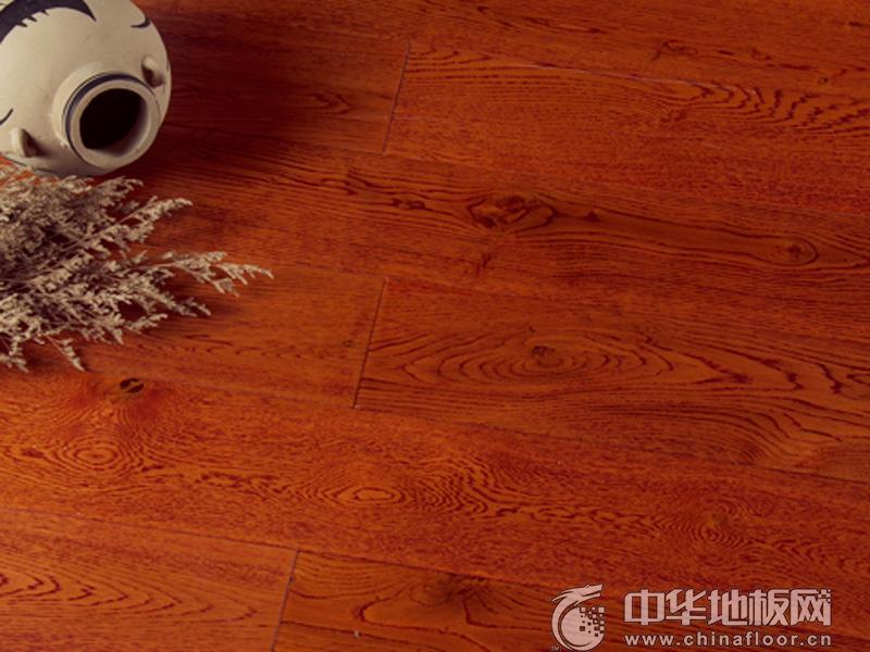 扬子地板 实木地板 栎木