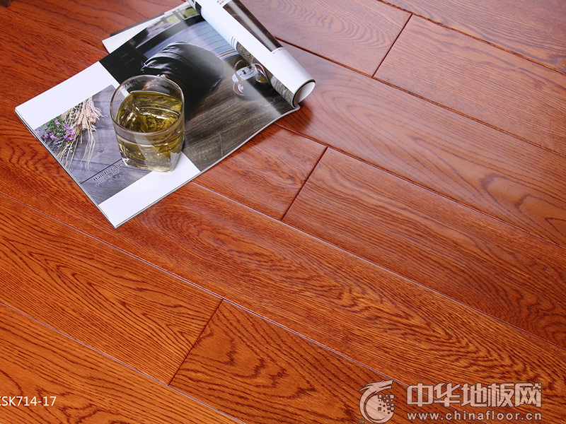 昌欣地板-实木地热锁扣系列-CXSK714-17栎木
