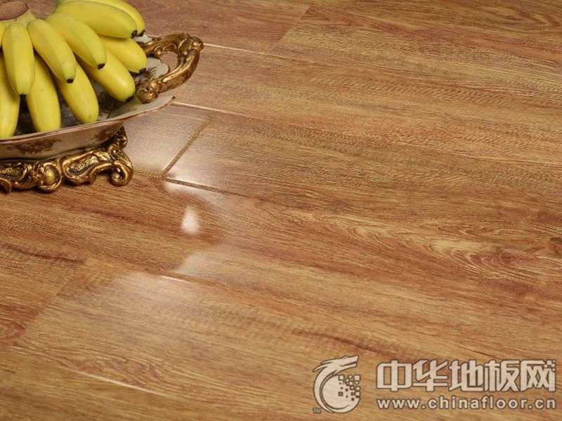 莱茵春天地板 强化仿实木地板系列 金丝黄橡