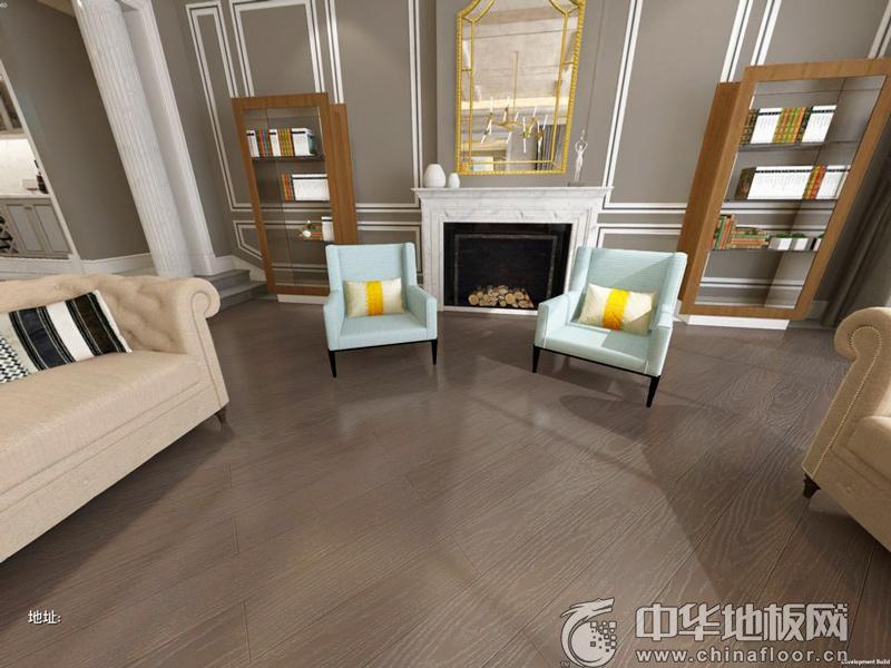 方圆地板 实木复合地板系列 橡木(四)