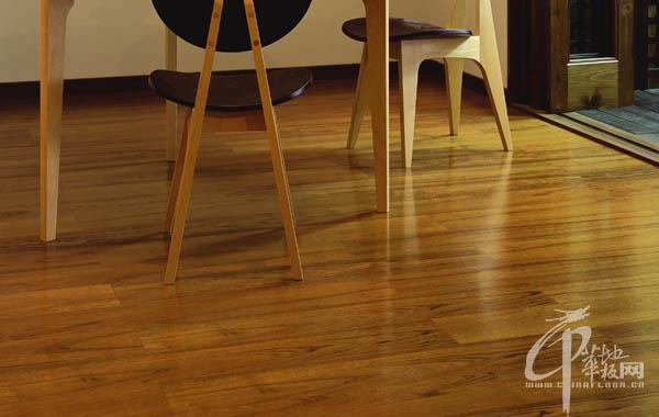 米乐居地板--柚木4